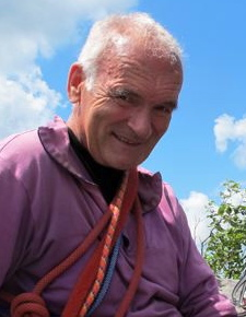 Klaus Jäschke in der Sächsischen Schweiz