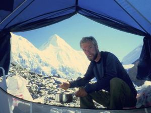 Veit Althoff am Khan Tengri (7010 m)