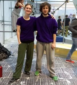 Mirko Künstler und Rebecca Werner